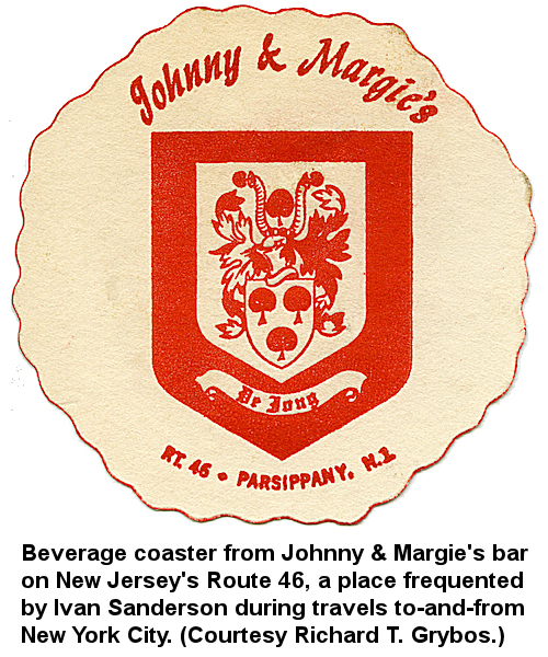 Johnny and Margie's Drink Coaster